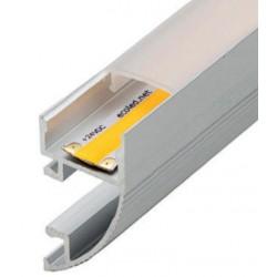 Perfil alumínio Galicia para fita LED
