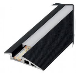 Perfil alumínio Qatar para fita LED