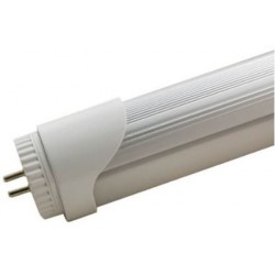 Lâmpada LED T8 60cm com concentrador de alumínio