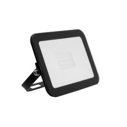 Projector LED Slim Cristal Preto 20W