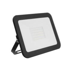 Projector LED Slim Cristal Preto 30W