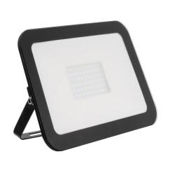 Projector LED Slim Cristal Preto 50W