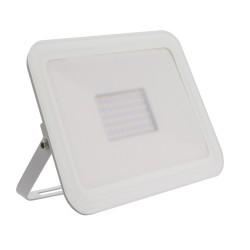 Projector LED Slim Cristal Branco 50W