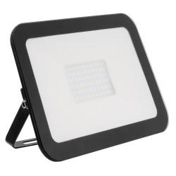 Projector LED Slim Cristal Preto 100W