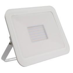 Projector LED Slim Cristal Branco 100W