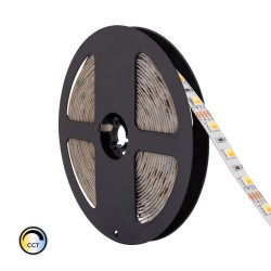 Fita LED 12V IP20 CCT 14W/metro, rolo de 5 metros