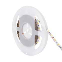 Fita LED 24V IP20, Brancos, 1320 lúmens/metro, 13W/metro, rolo de 5 metros