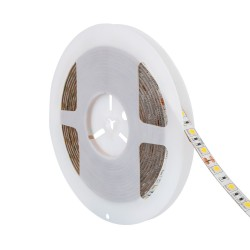 Fita LED 24V IP65, Brancos, 1320 lúmens/metro, 13W/metro, rolo de 5 metros