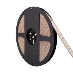 Fita LED 24V IP68, Brancos, 1320 lúmens/metro, 12W/metro, rolo de 5 metros