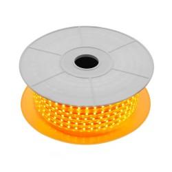 Fita LED 220V IP65, Várias cores, 840 lúmens/metro, 10W/metro, rolo de 50 metros