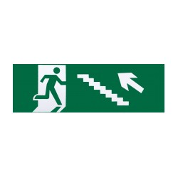 Subir escadas à esquerda