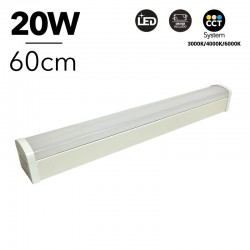 Régua LED CCT 60cm, 20W