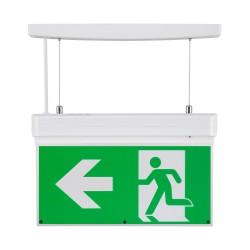 Bloco de emergência LED 2W, seta direita/esquerda