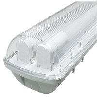 Tubos LED e armaduras